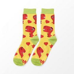 T-rex szerelem női zokni