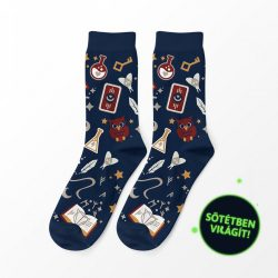 Varázslóinas férfi zokni